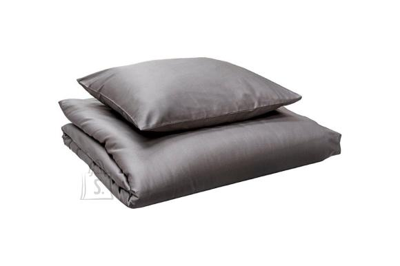 Tekstiilikompanii Tekikott puuvill-satään 200x210 cm / Standard tumehall
