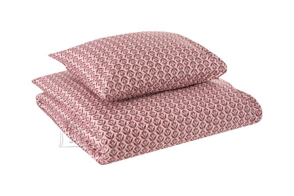 Tekstiilikompanii Voodipesukomplekt puuvill-satään 200x210, 2 tk 50x60 cm / REMY roosa