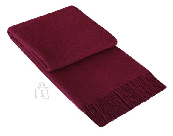 Tekstiilikompanii Pleed 130x180 cm, 00-0237 tumepunane