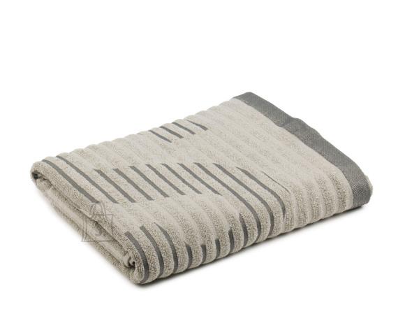 Tekstiilikompanii Saunalina 80x200 cm, sissekootud kirjaga SAUNA, hall