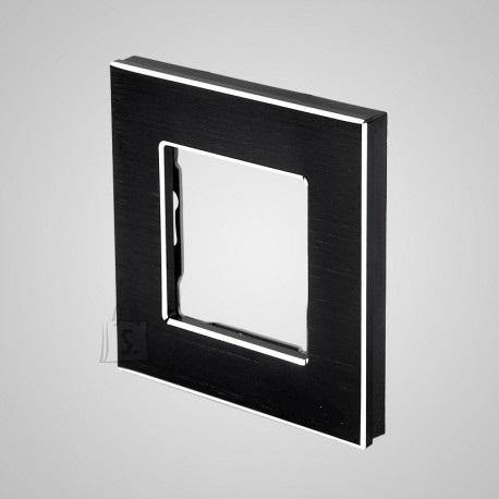 Tenux alumiiniumist raam pistikupesadele ja lülititele