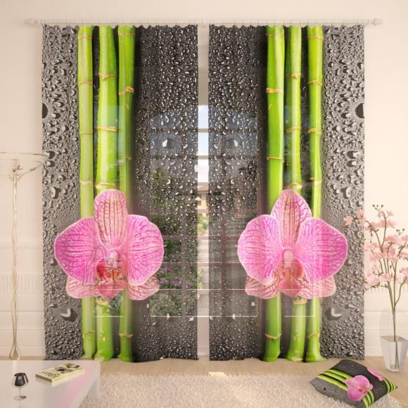 Tüllkardinad Soft Orchid 290x260cm