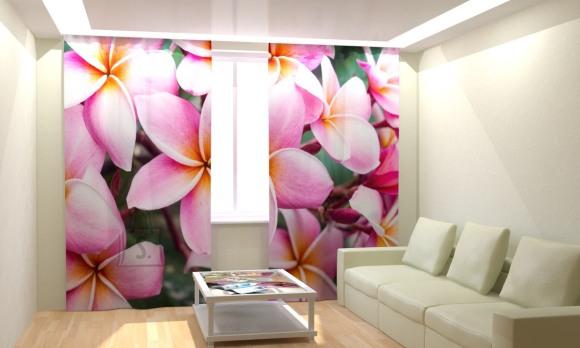 Fotokardinad Tropical Flowers 300x260cm