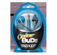 Maxell kõrvaklapid Colour Budz (sinised)