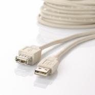 Aurora USB A-A pikenduskaabel 3m 301460