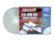 Maxell CD-RW toorik 700MB 80 min. 1tk (626001)