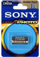 Sony CR123A liitiumpatarei 1 tk CR123AB1A