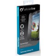 Cellularline Tempglassgal4 karastatud ekraanikaitseklaas Samsung S4'le