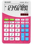 Sharp kontorikalkulaator ELM 332BPK roosa