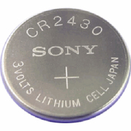 Sony CR2430 liitium-tablettpatareid CR2430BEA 5 tk