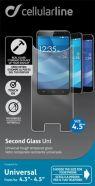 """Cellularline Tempglasbuni45 karastatud ekraanikaitseklaas 4.5"""" ekraanidele"""