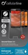 """Cellularline Tempglasbuni47 karastatud ekraanikaitseklaas 4.7"""" ekraanidele"""