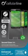 """Cellularline Tempgla49 karastatud ekraanikaitseklaas 4.9"""" ekraanidele"""