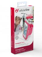 Cellularline ARMBANDFIT52F telefonihoidik käsivarrele