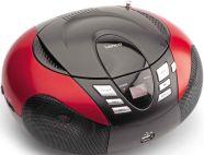 Lenco SCD37USB CD-raadio Red