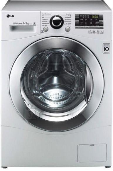 LG eestlaetav pesumasin-kuivati S44A8YD 1400 p/min