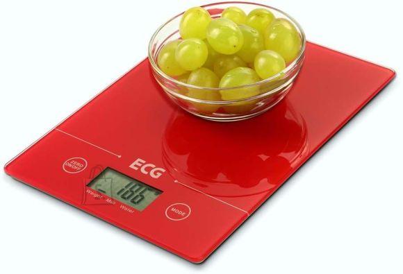 ECG digitaalne köögikaal KV117 Slim punane