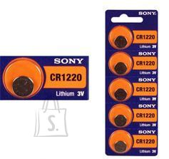 Sony CR1220 liitium-tablettpatareid 5 tk CR1220BEA