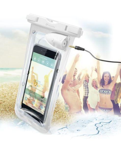 Cellularline veekindel telefoniümbris kuulariliitmikuga VOYAGERMUSIC15W