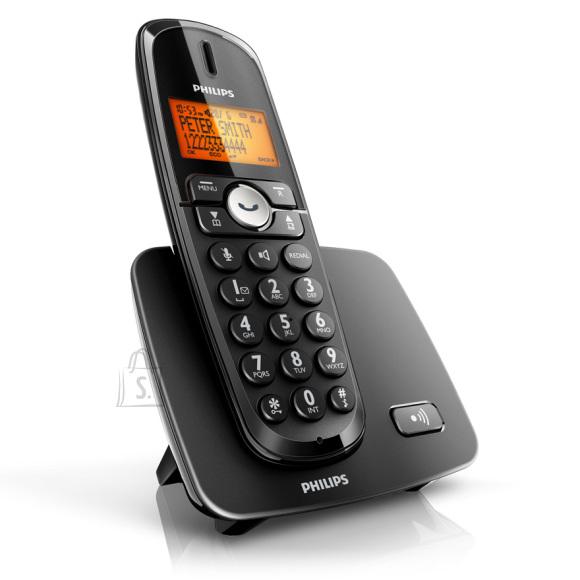 Philips valju heliga juhtmevaba lauatelefon XL-3701B/51