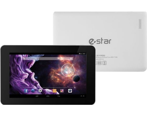 "eSTAR Beauty HD Quad Core 7"" tahvelarvuti 8GB (BEAUTYHDQUAD-WHITE)"