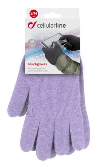 Cellularline nutikindad S/M TOUCHGLOVE150MV
