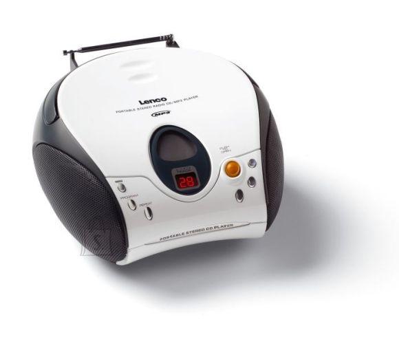 Lenco portatiivne CD-raadio SCD-24 White
