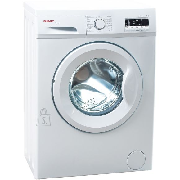 Sharp ES-FA5101W1EE eestlaetav pesumasin 1000 p/min