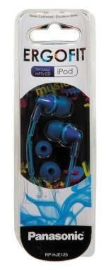 Panasonic Kõrvasisesed kõrvaklapid Panasonic RP-HJE125E-A, sinine
