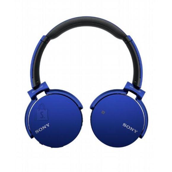 Sony Juhtmevabad kõrvaklapid Sony MDRXB650, sinine