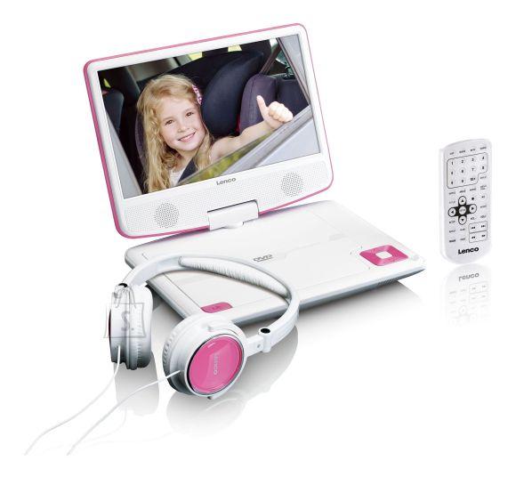 Lenco Portatiivne DVD mängija LENCO DVP-910PK, roosa
