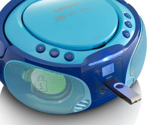 Lenco Magnetoola karaokega Lenco SCD-650, sinine