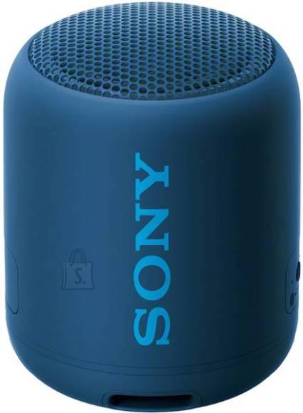 Sony Kaasaskantav juhtmevaba kõlar Sony SRSXB12L.CE7, sinine