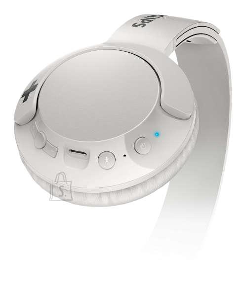 Philips Juhtmevabad kõrvaklapid Philips SHB3075WT/00, valge