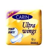 Carin Hügieenisidemed, Ultra wings Top Dry 9tk