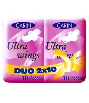 Carin Hügieenisidemed, Ultra wings Duo 20tk