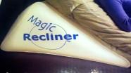 Seljatugi reguleeritava kallutusega Magic Recliner