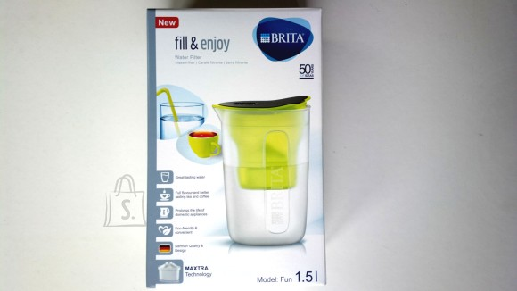 Brita BRITA veefilterkann 1,5L FUN Lime Maxtra filtriga