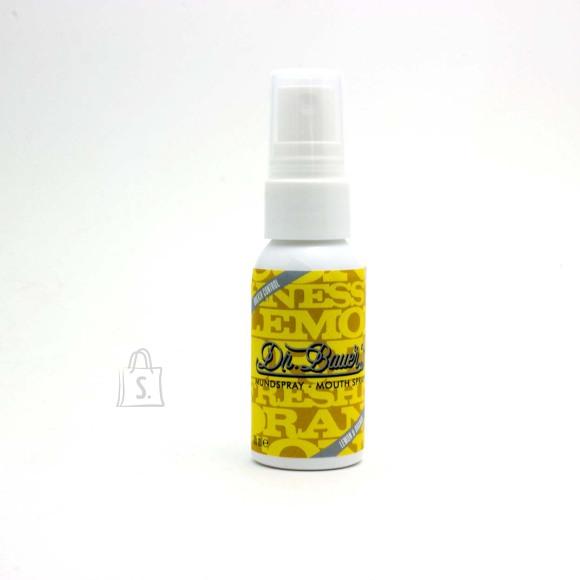 Dr. Bauers Suuvärskendaja spray sidruni ja apelsini maitseline 35 ml