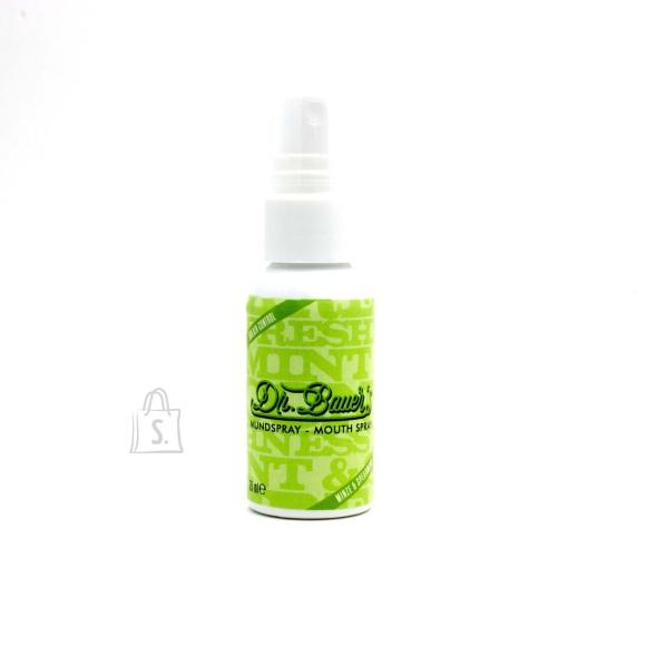 Dr. Bauers Suuvärskendaja spray piparmündi ja rohemündi maitseline 35 ml