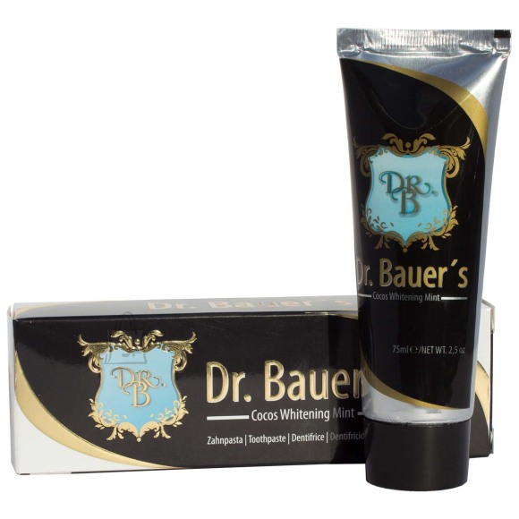 Dr. Bauers Kookose-piparmündi valgendav hambapasta 75 ml