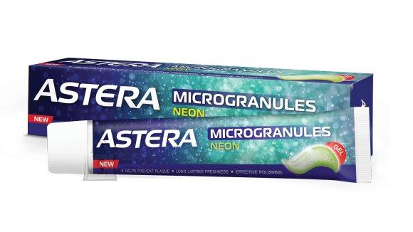 Astera Mikrograanulitega Neon hambapasta 75 ml