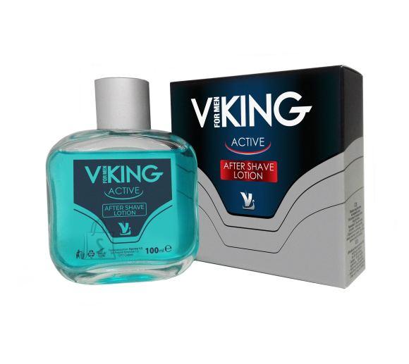Viking raseerimisjärgne losjoon normaalsele nahale mentooliga 100 ml