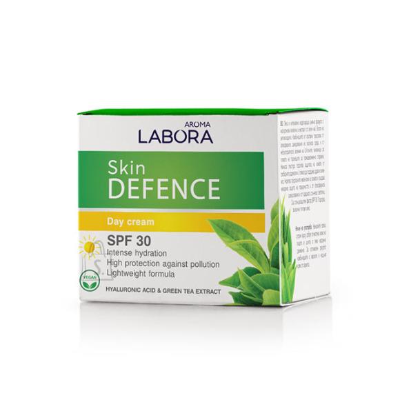 Aroma Labora Skin Defence SPF30 hüaluroonhappe ja rohelise tee ekstraktiga päevakreem 50 ml