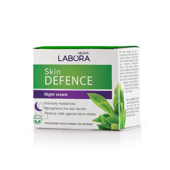 Aroma Labora Skin Defence hüaluroonhappe ja rohelise tee ekstraktiga öökreem 50 ml