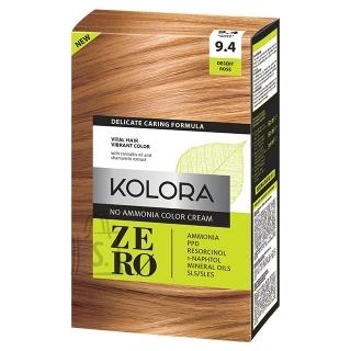 Kolora Zero 9.4 Kõrberoosa, Ammoniaagivaba Juuksevärv, 60 ml