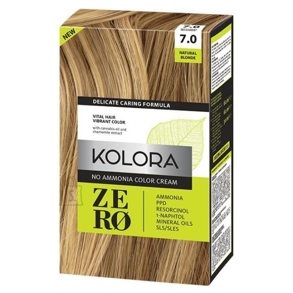 Kolora Zero 7.0 Naturaalne Blond, Ammoniaagivaba Juuksevärv, 60 ml