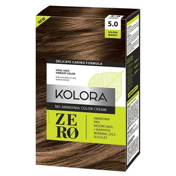 Kolora Zero 5.0 Kuldne Brandy, Ammoniaagivaba Juuksevärv, 60 ml