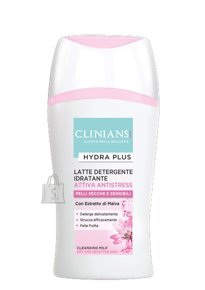 Clinians Clinians Hydra Plus niisutav puhastuspiim kuivale ja tundlikule nahale 200m