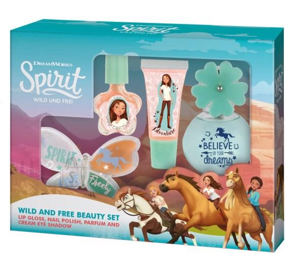 Spirit meigikomplekt lõhnaga tüdrukutele
